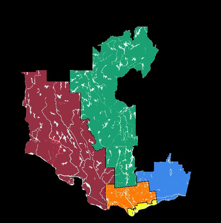 Carte rurale Outaouais